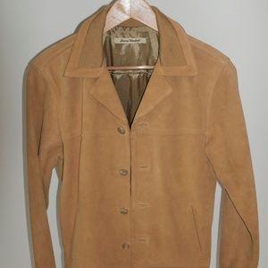 Journal Standard Light Brown Leather Coat